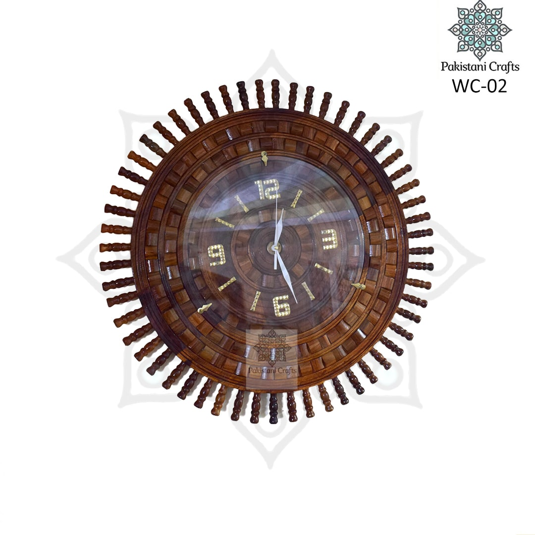 Wooden Wall Clock WC-02