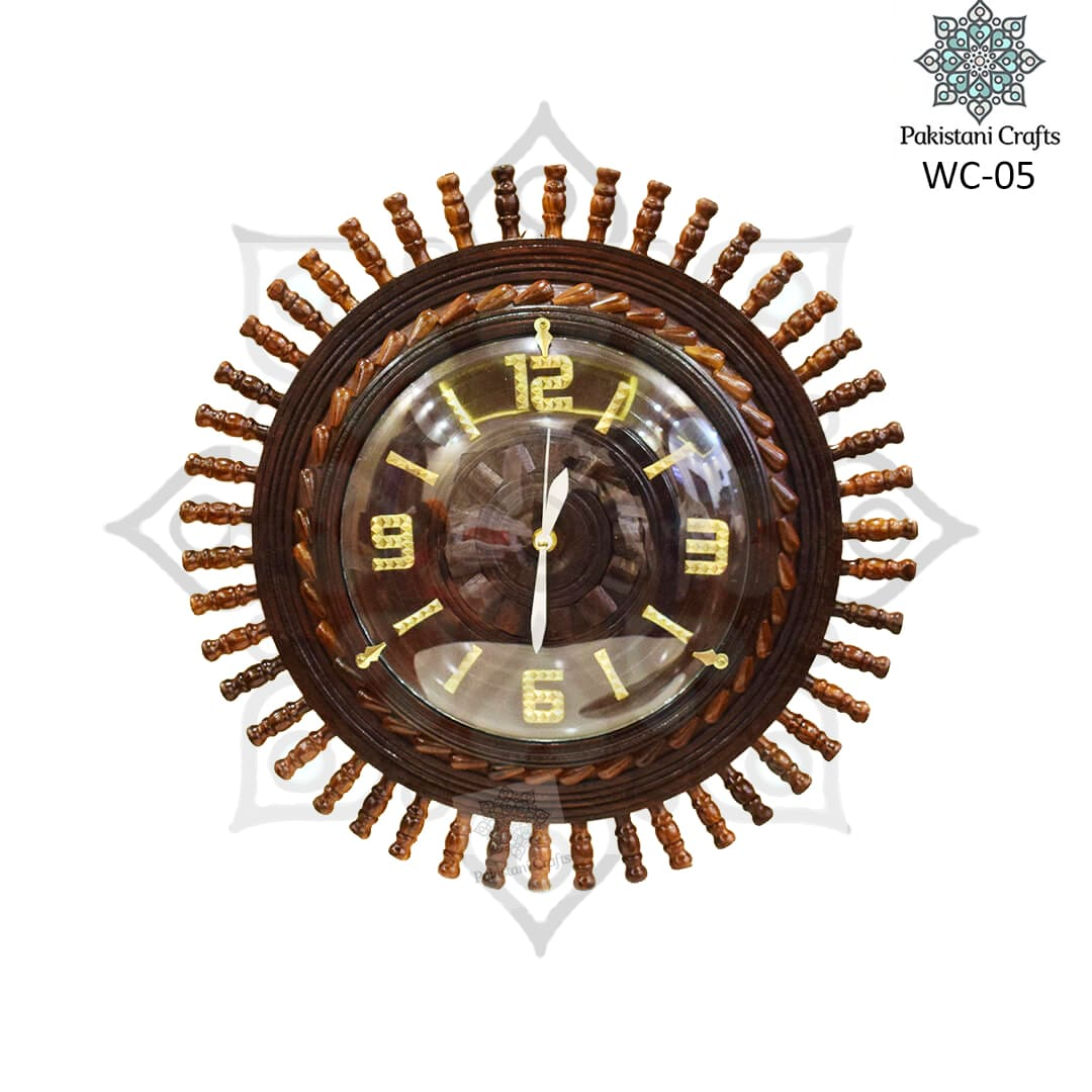 Wooden Wall Clock WC-05
