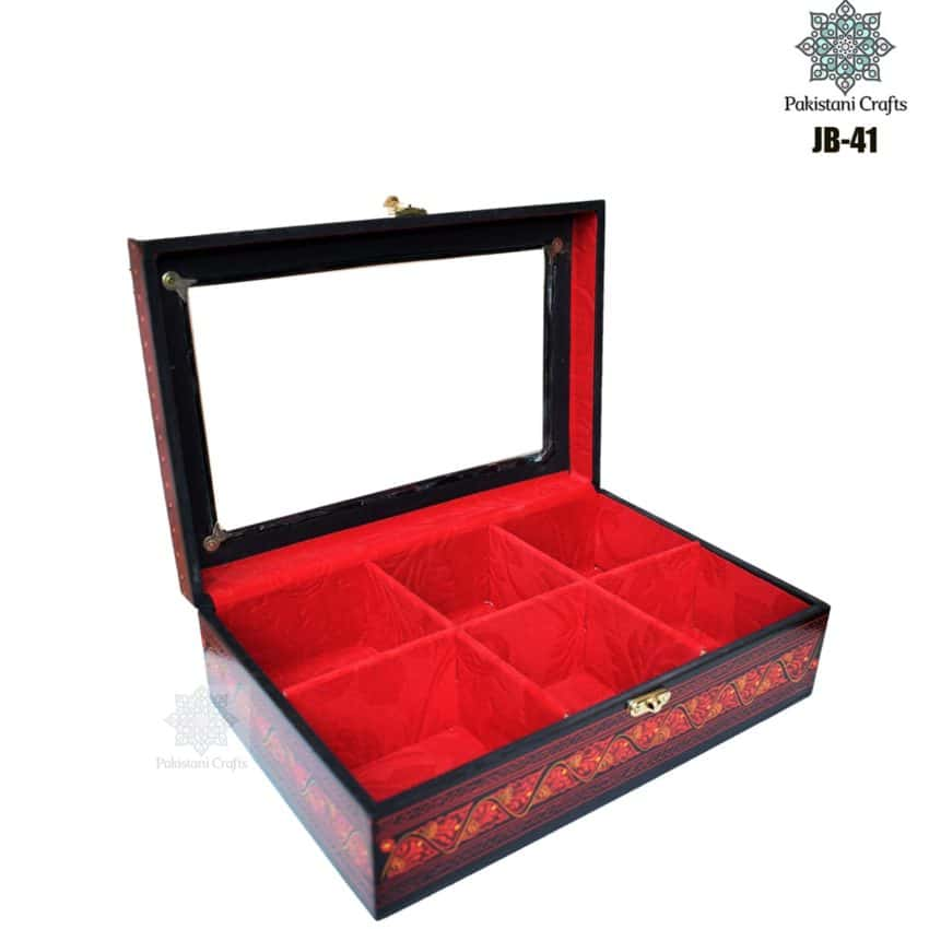 Handcrafted Jewelry Box Rectangular JB-41