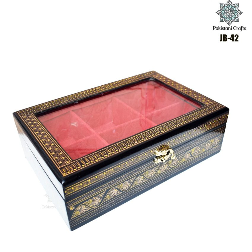 Handcrafted Jewelry Box Rectangular JB-42