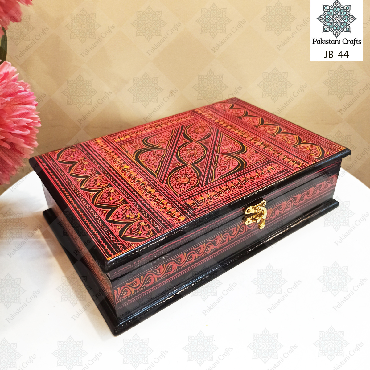 Handcrafted Jewelry Box Rectangular