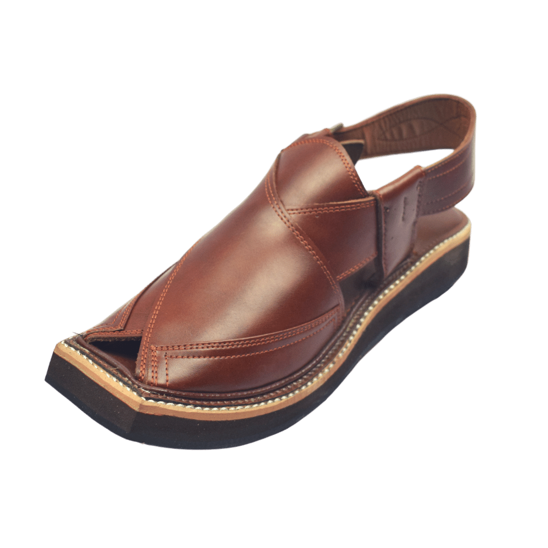 Most Luxrious Kaptaan Chappal Brown