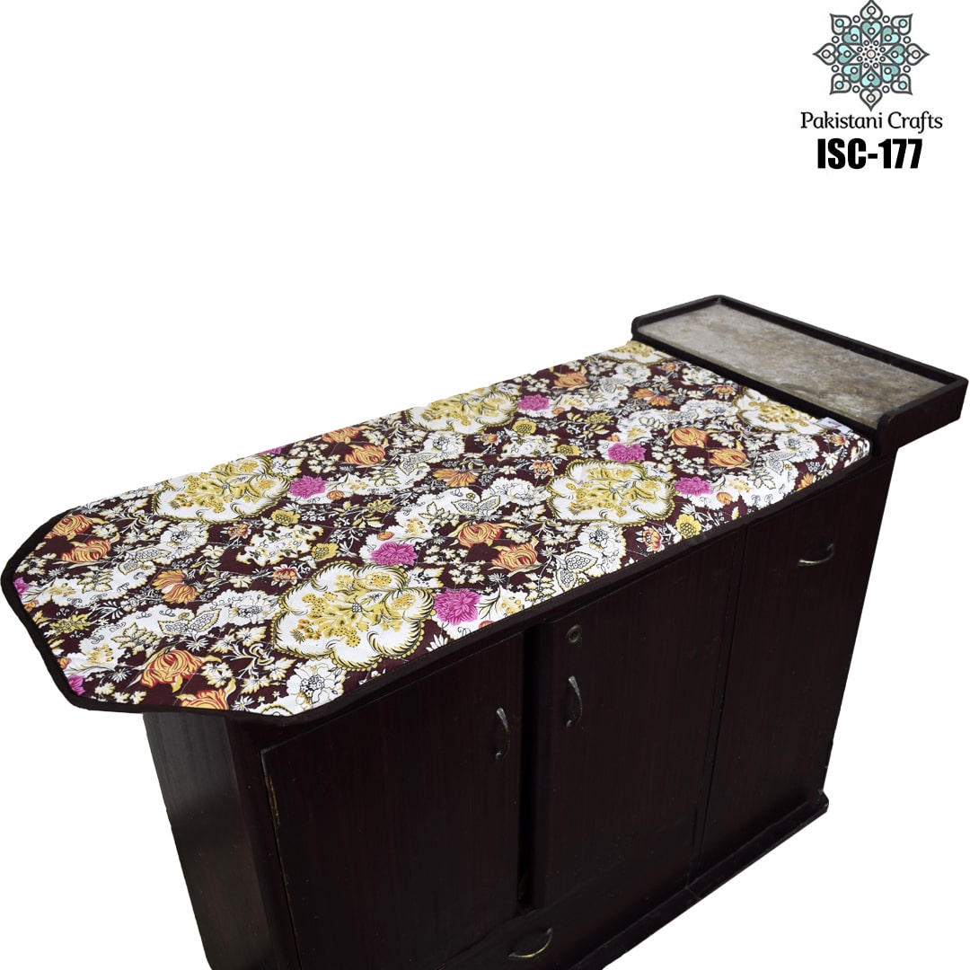 Flower Iron Stand Cover ISC-177