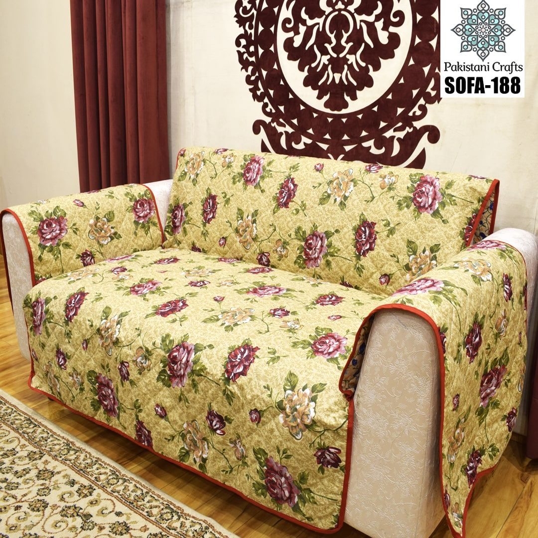 Best Quilted Fabric Sofa-188