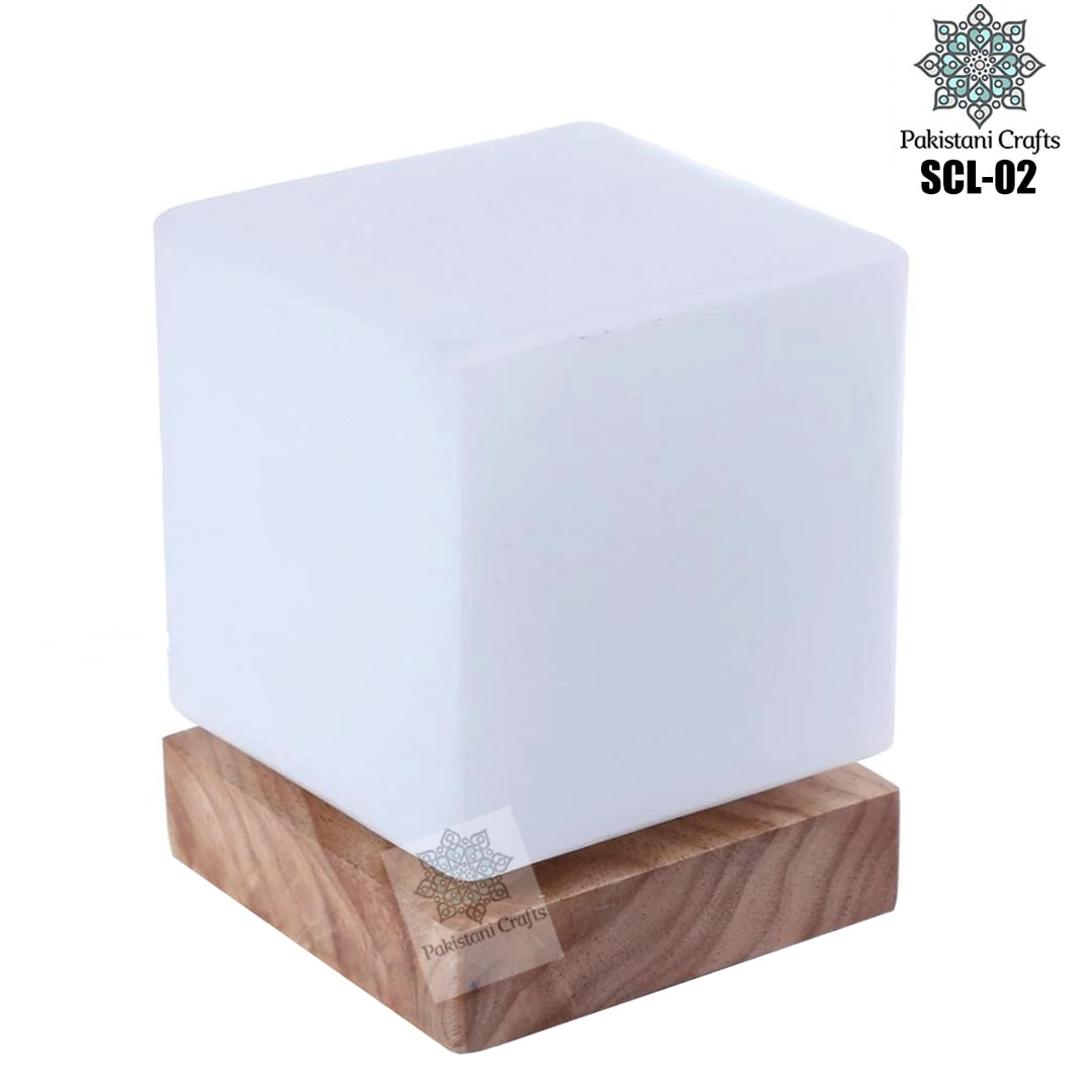 Himalayan Salt Crafted Square Lamp SCL-02