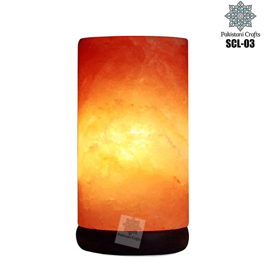 Himalayan Salt Crafted Cylinder Lamp SCL-03