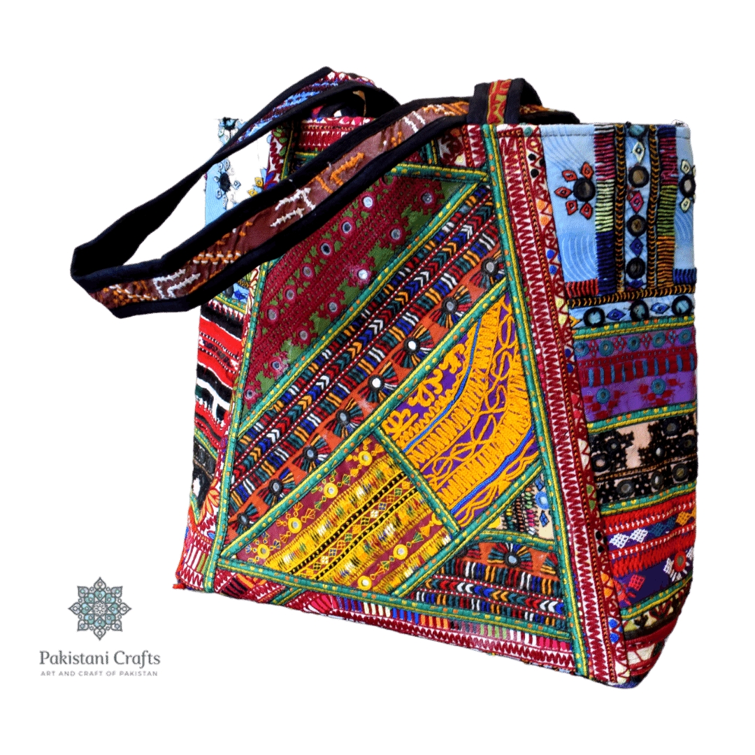 Lady Hand Bag in Sindhi Style