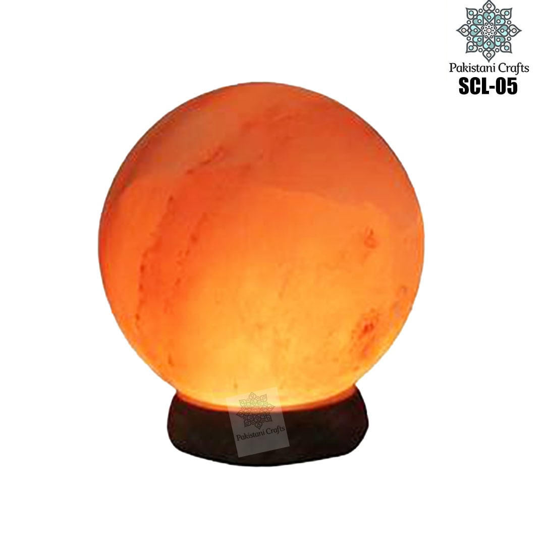 Himalayan Salt Crafted Sphere Lamp SCL-05