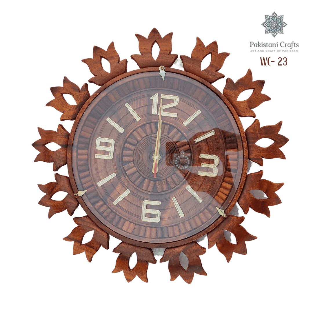 Wooden Wall Clock Traditional